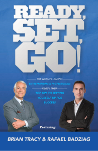 """Ready, Set, Go!"" - Rafael Badziag + Brian Tracy - Amazon Bestseller"