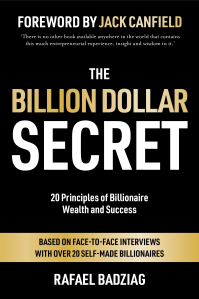 Światowy Bestseller: The Billion Dollar Secret - Rafael Badziag